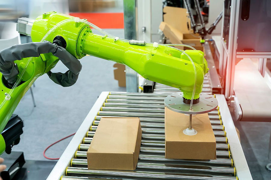 "Shippers Are Using ""Warehouse Robots"" To Help Their Bottom Line"